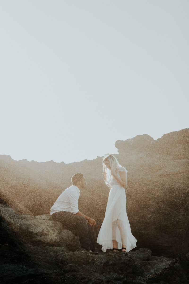 Lost Coast California Engagement, Redwoods National Park Elopement